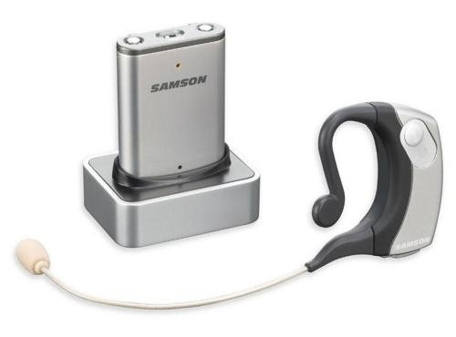 Samson AirLine Micro Earset Wireless System with Water-Resistant Micro Earset Transmitter (Channel K3) by Samson Technologies
