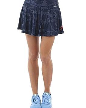 Bull padel Falda BULLPADEL VALBER Azul Marino Mujer: Amazon ...