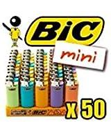 BRIQUET BIC MINI COLOR PASTEL X50