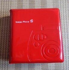 Fujifilm Instax Red Mini Jelly Album 32 Slots for Wide Instax 210 200 Photo Album