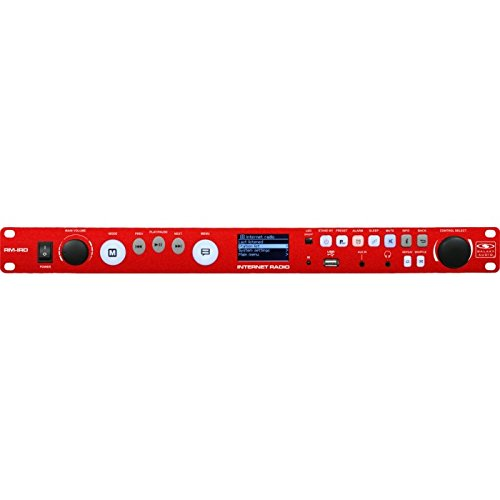 (Galaxy Audio RM-IRD Rack Mount Internet Radio, Access to Over 20k Stations, FM with RDS, 1/8