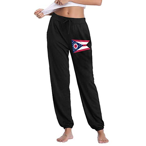 - Futong Huaxia Women's Casual Sweatpants Flag of Ohio Fitness Training Jogger Pant