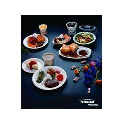 (Placesetter Satin Non Laminated White Foam Plates 8 7/8