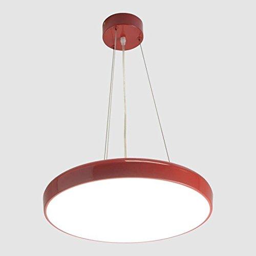 BarcelonaLED Lámpara Colgante LED 30W de Suspensión Techo ...
