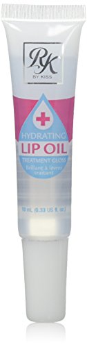 ruby kisses Hydrating lip oil treatment gloss CLEAR  0.34oz