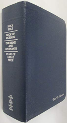 - Deluxe Holy Bible LDS Edition of the King James Version Water Buffalo Calfskin Gold Edges (1979)