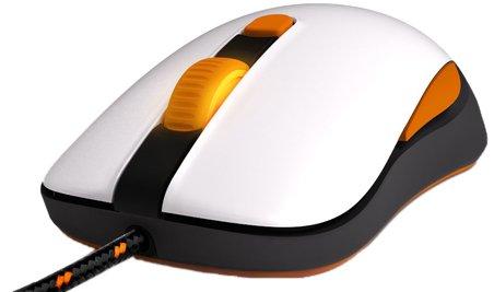 SteelSeries Kana v2 Optical Gaming Mouse, White