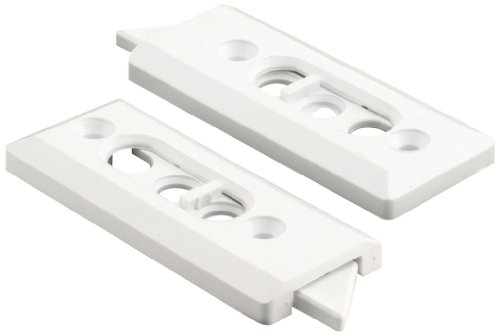 (Slide-Co 173921 Vinyl Window Tilt Latch, 1 Pair, 2-1/8-Inch Hole Centers, White,(Pack of 2))