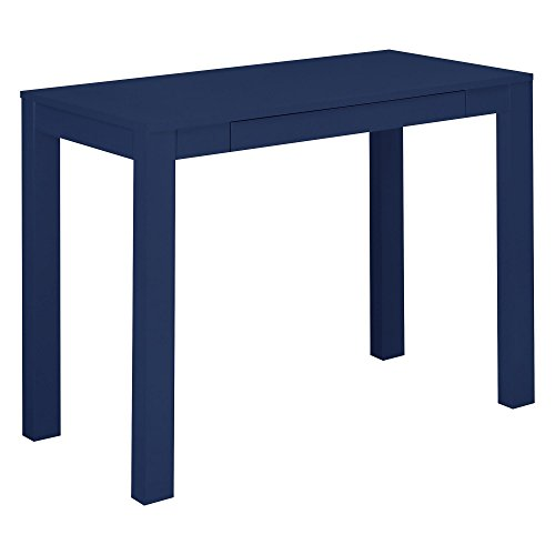 Ameriwood Home  Parson Desk with Drawer, Navy (Console Parsons Table)