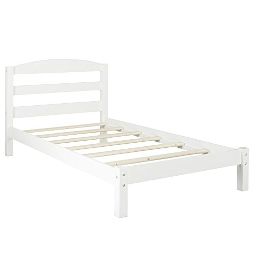Twin Bed, White ()