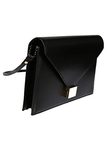 VBA160BLACK Artificielle Pochette Noir Victoria Beckham Femme Cuir HwESSO
