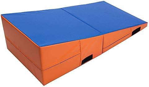 折りたたみ発泡インクライン体操マットタンブリングウェッジ安全なバランス運動スロープジムマットホーム屋内フィットネス機器