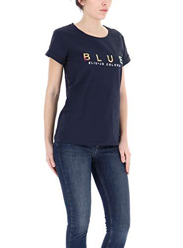 Femme shirt Liu Jeans Jo Midnight Blu T PnIICSqw0