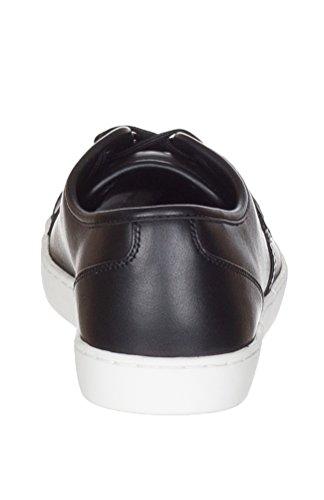 Dolce & Gabbana Scarpe Mens Ginnastica In Pelle Scarpe Da Ginnastica Nere Nero
