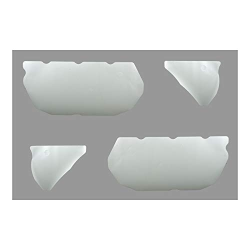 Eckler's Premier Quality Products 33-256581 Camaro Door Panel Water Shields, Coupe, Mylar,