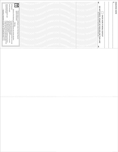 500 Blank Check Stock-Check on Top-Blue Marble Pattern-Compatible with Quickbooks,Quicken,Versacheck and More-(500 Laser Security Sheets-8.5''x11'' #24)-Made in USA with Pride! by Signature Forms (Image #3)