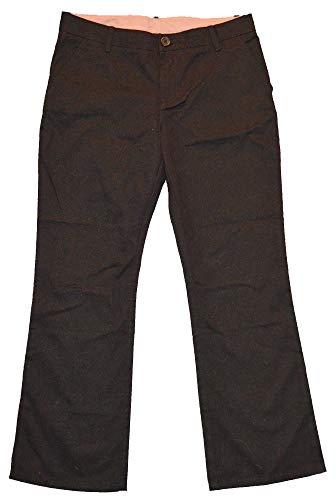 GAP Kids Girls Black Classic Chino Straight Leg School Uniform Pants 10 Plus +