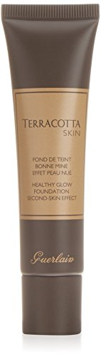 Guerlain Terracotta Skin Healthy Glow Foundation Second Skin Effect for Women, 01 Blondes, 1 Ounce