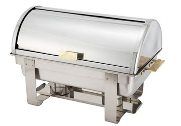 Dallas Chafer (Dallas Collection (Heavyweight) Chafer - Rolltop, Gold Accent, 8 Qt.)