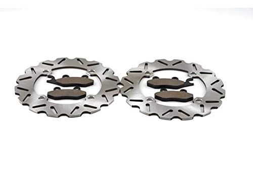 2013-2017 Can-Am Commander 1000 4x4 DPS Front Sport Brake Rotors and Brake Pads