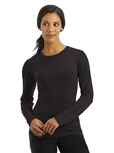 Jockey 2408 Women's Performance RX Dry Comfort Tee - Comfort Guaranteed Black XL -