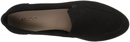 Aldo Kvinna Joeya Slip-on Loafer Svart Mocka