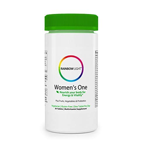 (Rainbow Light - Women's One Multivitamin - Supports Energy and Vitality, Organic Daily Vitamin and Mineral Supplement, Biotin, Gluten-Free, Vegetarian - 30 Tablets)