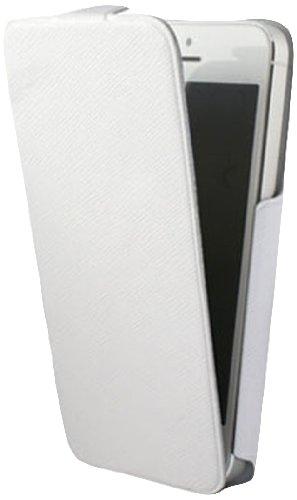 KSIX b0917fu82b Schutzhülle mit Deckel für Apple iPhone 4und iPhone 4s (einfacher Zugriff auf, Anschlüsse und Kamera-Port), weiß