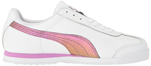 Sneaker uomo Roma Basic Holo Fashion, Puma White-Gold, 6 M US