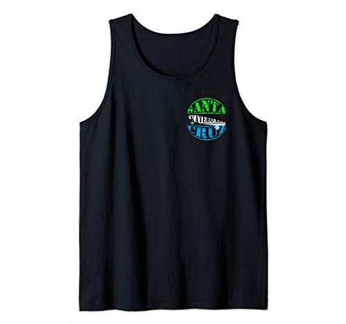 Skateboard Tank - Santa Cruz Skateboard Beach California  Tank Top