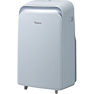Impecca IPAH14KS 14,000 BTU Heat & Cool Portable Air Conditioner with Electronic Controls