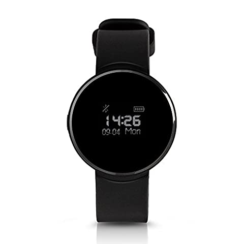 Smart Waterproof Watch for Android and Iphone,Multifunction Sport Watches for Men & Women (Black) (Water Proof Watches Ladies)