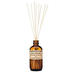 Christmas Tree Reed Diffuser Set 3oz | Handmade by Lorenzen Candle Co