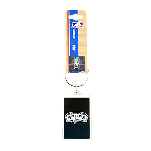 NBA Premium Team Logo Acrylic Keychain Key Ring (San Antonio Spurs)