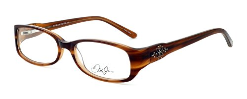 Dale Earnhardt Jr. 6786 Designer Reading Glasses in Toffee. Custom made using high quality eyeglass frames and prescription reader lenses. - Eyeglasses Made Custom