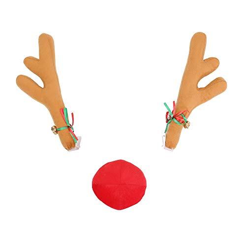 Lafuncosa Christmas Car Decor Accessories 15.15
