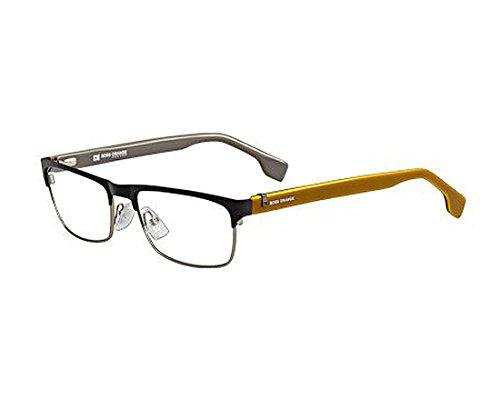 Hugo Boss Orange Prescription Rx Eyeglasses - 0072 0CS4 - Matte - Hugo Glasses Boss Mens Orange