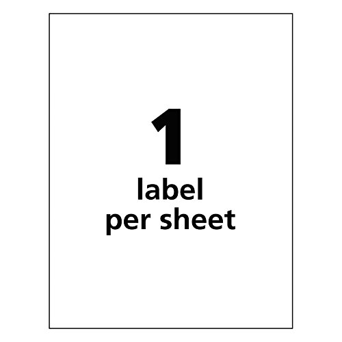 Avery UltraDuty GHS Chemical Labels for Laser Printers, Waterproof, UV Resistant, 8.5'' x 11'', 50 Pack (60501) by Avery (Image #6)