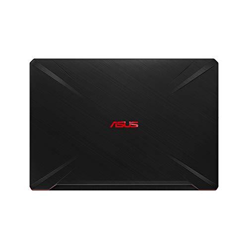 "ASUS TUF Gaming FX705GD-EW106 - Portátil Gaming de 17.3"" FHD (Intel Core i7-8750H, 16 GB RAM, 1 TB HDD + 256GB SSD, NVIDIA GeForce GTX1050 4 GB, Sin Sistema operativo) Negro - Teclado QWERTY Español 3"