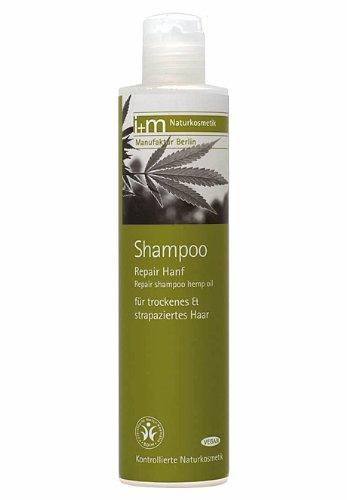 Repair Haar Shampoo Hanf, Haarpflege Bio Hanföl, ohne silikone i+m Naturkosmetik 250ml