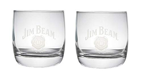 Jim Beam Snifter Glass | Set of 2 Glasses ()