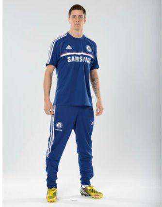 2013-14 Chelsea Adidas Training Shirt (Blue)