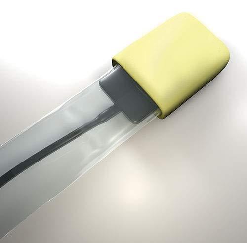 Crosstex BWSSL Sensor Slippers Sleeves, Large, Yellow (Pack of 50) by Crosstex
