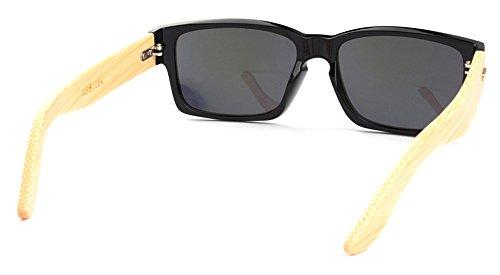sol de las Wayfarer de bamb 5 Man Todas Vintage de mujeres Gafas BEzE6vnxF