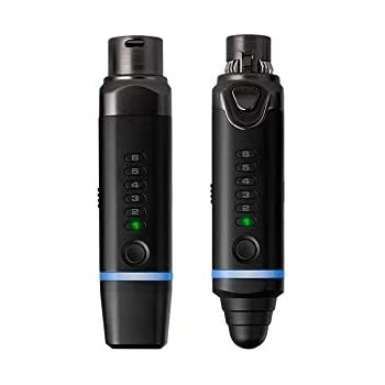 xvive u3 microphone wireless system with 2 4ghz xlr transmitter and receiver for. Black Bedroom Furniture Sets. Home Design Ideas