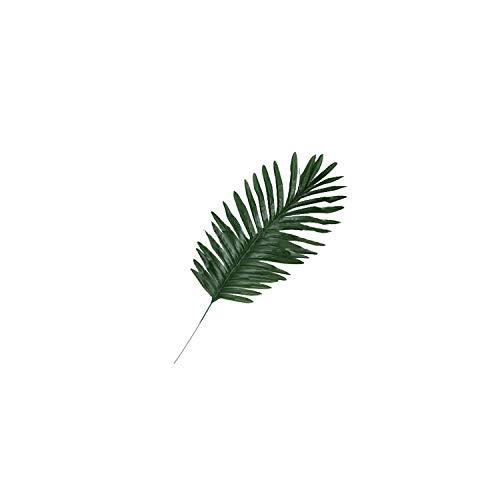 1Pc Pine Branch Coconut Palm Leaf Artificial Plant Blogger Photo Prop,2