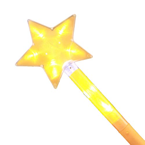 [Christmas Gift Toy]-Star Shape Light Up Stick LED Concert Party Decorative Glowing Wands Rod Gift £¬Arrive Before Christmas ()