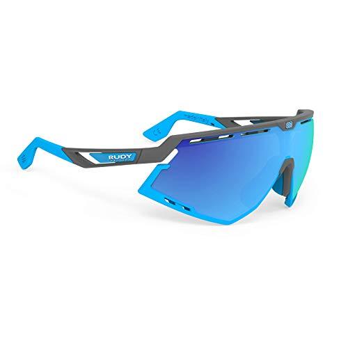 Rudy Project Defender Pyombo Matte Frames with Multilaser Blue Lenses