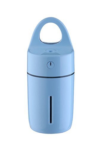 Innerest Portable Mini Humidifier Cool Mist for a single room office desk kids night lights lamp (Magic Cup, Blue) by Innerest