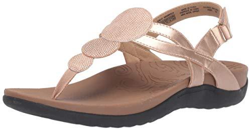 Pink Thongs Sandals Shoes - Rockport Women Ridge Circle Thong Slide Sandal Pink 10 M US